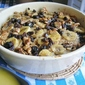 BANANA BREAD PUDDING WITH RUM SAUCE