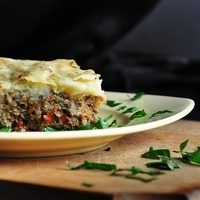 Vegetarian Mushroom Moussaka - with vegan version