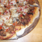 Spicy Sausage and Mushroom PIzza from Cooking Light Magazine, October 2011