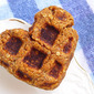 Pumpkin Spice Waffle Cookies (Gluten-Free, Vegan, Refined Sugar-Free)