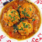 Vegetable Soup with Parmesan Dumplings