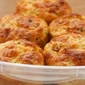 Cottage Cheese and Egg Breakfast Muffins Recipe with Ham and Cheddar