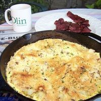 Potato & Sweet Onion Frittata