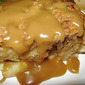 Caramel Apple Bread Pudding w/ Rum Sauce + Festival Time