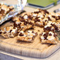 S'Mores Bars Take 1: Baking with Sammy