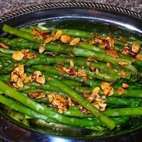 Image of Asparagus Almandine Recipe, Cook Eat Share