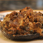 Funghi ripieni al forno (Oven-Roasted Stuffed Mushrooms)