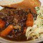 Slow Cooked Cider and Herb Braised Beef Ribs
