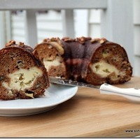 Image of Apple Praline Bundt Cake With A Cream Cheese Filling Recipe, Cook Eat Share