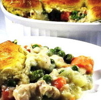 Chicken Pot Pie Skinny-fied!