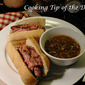Recipe: French Dip Sandwiches