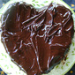 Dark Chocolate Heart Cake!!!
