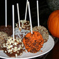 Mexican Chocolate Caramel Apples
