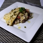 Isiphuphulu & Hake Fillet drizzled with Lemon Butter Caper Sauce