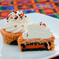 Halloween Pumpkin Mini Cheesecakes