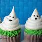 Meringue Ghost Cupcakes