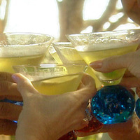 Image of Apple Martini With Sour Apple Hard Candy Recipe, Cook Eat Share