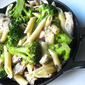 Penne w/ Chicken, Broccoli & Chopped Olives