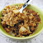 Baked Peanut Butter Apple Oatmeal