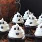 Halloween Ghosts on Carrot Cake Recipe—Fast and Easy Cupcakes
