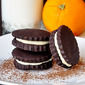 Chocolate Orange Sandwich Cookies