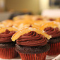 Mini Chocolate-Orange Cupcakes