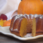 Pumpkin & Ginger Pound Cake from Fine Cooking Magazine, October 2002