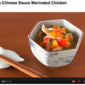 Glittering Chinese Sauce Marinated Chicken - Video Recipe