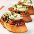 Bruschetta With Roasted Tomatoes & Lima Beans