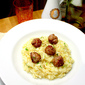 Risotto di Polpette di Salsicce al Finocchio: Playing with your Sausage…