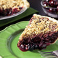 Cherry-Berry Crumble Pie