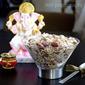 Shahi Panjiri with just Nuts & dry fruit - A Festival Dessert