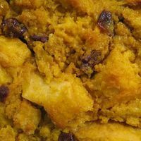 The Best Pumpkin Bread Pudding