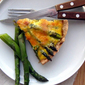 Asparagus /Smoked Salmon Quiche