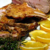Orange Glazed Pork Roast
