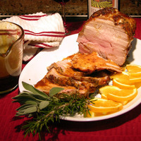 Orange Glazed Pork Roast Recipe