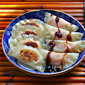 Recipe for sweet potato and apple potstickers