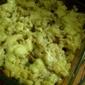 Mushroom, sausages and mashed potatoes