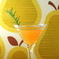 Rosemary Pear Martini