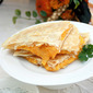 Acorn Squash Quesadillas with Yogurt-Herb Dipping Sauce
