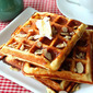 Almond Flour Yogurt Waffles (Low Carb and Gluten Free)