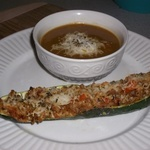 Stuffed Zuchinni Boats