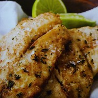 Lime Merinated Tilapia w/ Chili oil