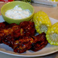 Football Food: Absolutely the Best Chicken Wings w/ Chobani Ranch Raita