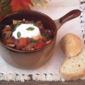 Turkey Chili from Gourmet Magazine, November, 2008