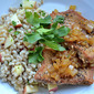 Apple and Onion Pork Chops with Fall Grains