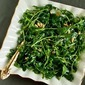Recipe for Kalyn's Favorite Baby Arugula Salad with Lemon, Balsamic Vinegar, Parmesan, and Pine Nuts