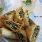 #170 Spanakopita or Greek Spinach Turnovers