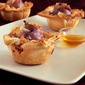 Savory Pies- Prosciutto Wrapped Fig Hand Pies with Pecans & Gorgonzola Cheese