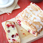 Glazed Cranberry Quick Bread with Crystallized Ginger Recipe